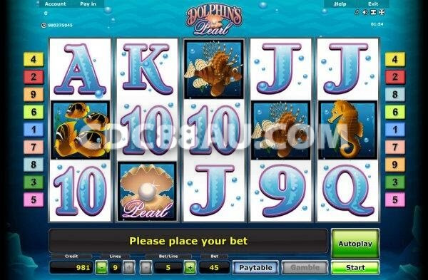 Slot Game Dolphin' Pearl cdc88au