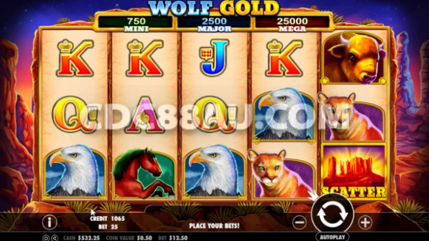 Slot  Wolf Gold